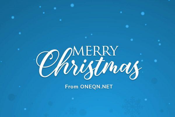 ONEQN CHRISTMAS